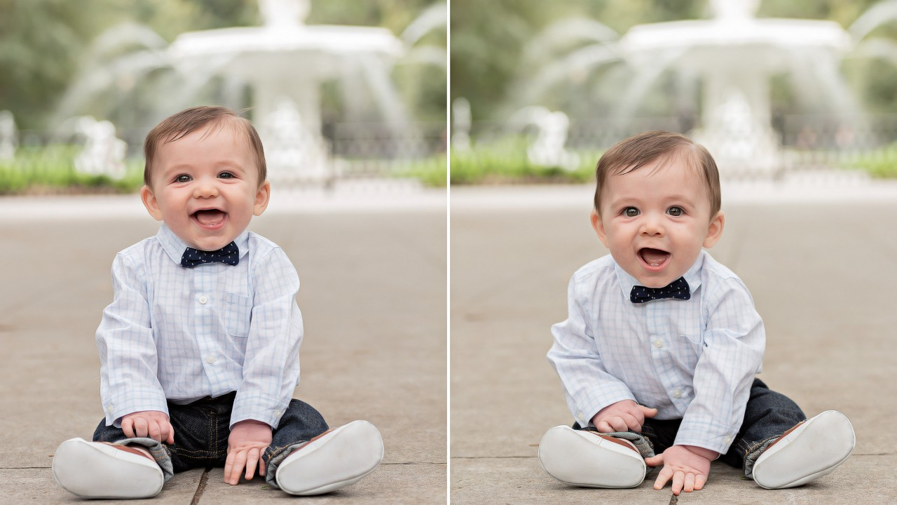 Family photography and baby photos by Truly Madly Deeply photography studio in Savannah GA