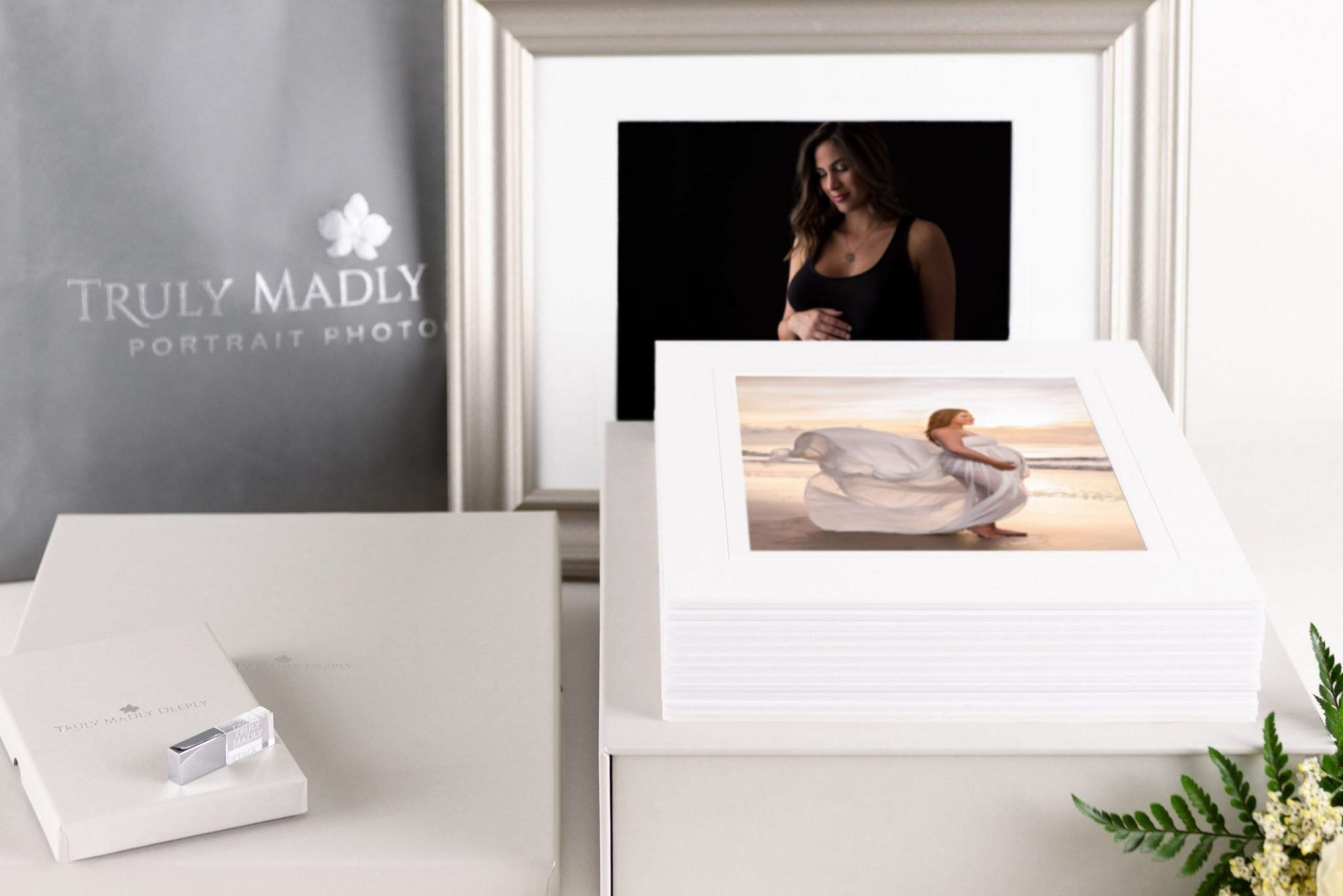 Maternity, newborn and family portrait prints and folio boxes by Truly Madly Deeply - maternity, newborn and family photography in Brevard County, Florida https://tmd.photo